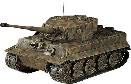 Hasegawa 1/72 German Army Panzer IV Tiger I type the last stage type plastic model MT39