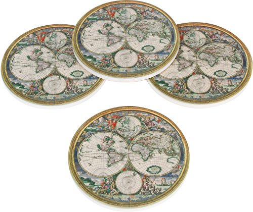 Diameter Ceramic Coasters Trademark Innovations