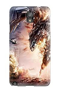 Special CaseyKBrown Skin Case Cover For Galaxy Note 3, Popular Transformers 4 Artwork Phone Case