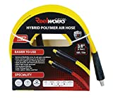 Best Air Hoses - ReelWorks 19143501-DY Hybrid Polymer Flexible Air Compressor Hose Review