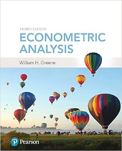 Econometric Analysis (8th Edition)