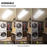 TychoLite 4ft LED Light Fixtures Dimmable 80W