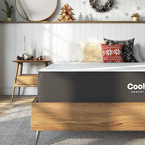 Classic Brands Cool Gel Ventilated Gel Memory Foam 10-Inch Mattress, Twin