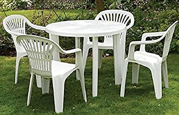 Ideas About White Resin Patio Table Set
