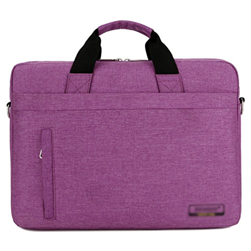 Computer 1 Bag Sunwanyi Laptop Briefcase Purple Messenger Case Shoulder qHvAwg