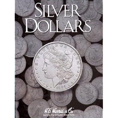 H.E. Harris Plain Large Dollar Coin Folder: Toys & Games