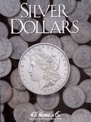 Plain Large Dollar Coin Folder by H.E. HARRIS