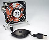 Thermaltake Mobile Fan II Adjustable Speed External USB Cooling Fan A1888