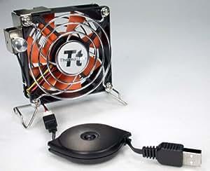 Thermaltake Mobile Fan II Adjustable Speed External USB Cooling Fan A1888