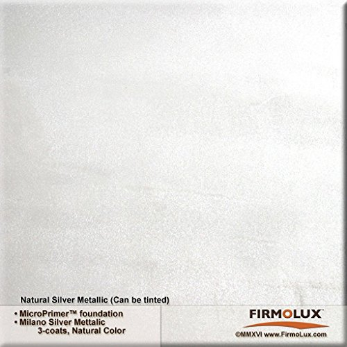 Milano Silver Metallic (Fine) Authentic Venetian Metallic Plaster from Italy. The ultimate in luxury finishes. by FirmoLux (Image #1)