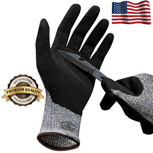 Hilinker Cut Resistant Gloves Level 7 Protection