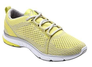 Vionic Womens 335 Sierra Flex Yellow Textile Trainers 39 EU J5r5mMqle