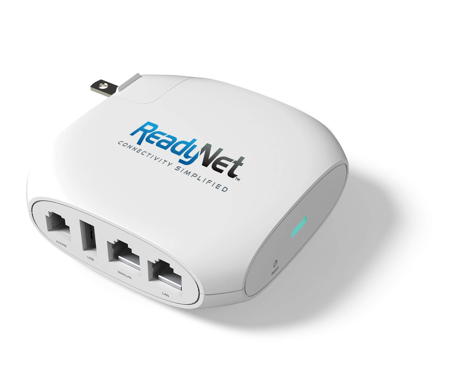 ReadyNet Wireless VoIP Wi-Fi Router, 802.11n, 1 FXS port for VoIP, Fast Ethernet, TR-069 Remote Management (QX300)