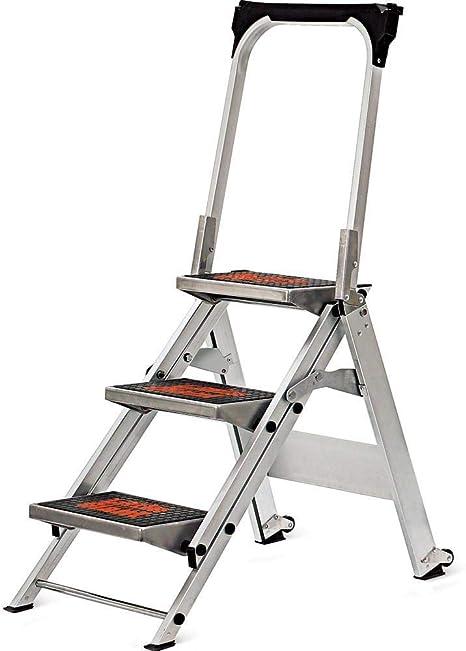 Poco gigante 10310ba seguridad aluminio escalera, 3 pasos: Amazon.es: Bricolaje y herramientas