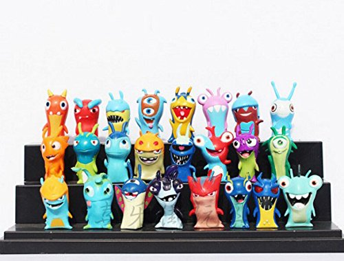 24pcsset-Anime-Cartoon-45-5cm-Mini-Slugterra-PVC-Action-Figures-Toys-Dolls-Child-Toys