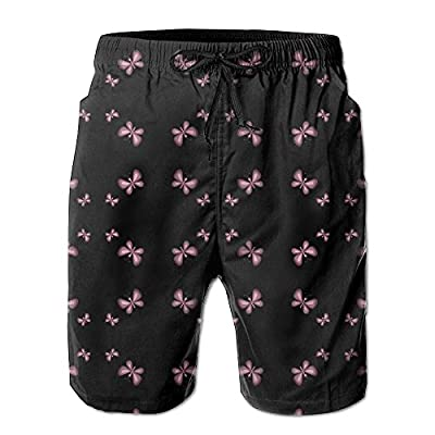OPDDBB Cool Black Butterfly Board Shorts Boardshorts With Pockets For Men for sale