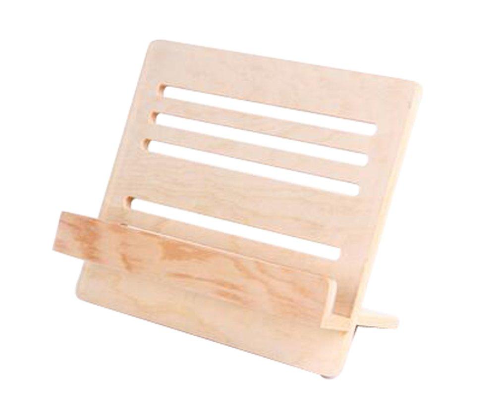 Alien Storehouse Lightweight Wood Adjustable Portable Universal lazy Ipad Stand Holder