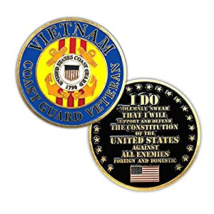 Vietnam Coast Guard Veteran Challenge Coin from VetFriends.com