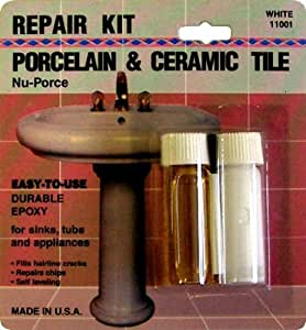 Amazon Com Nu Porce White Porcelain Amp Ceramic Tile Repair