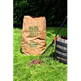 Lawn and Leafs Bags 30 Gallon Lawn & Leaf Refuse Bags Environmental Friendly Leaf Bags Paper (8 Count)