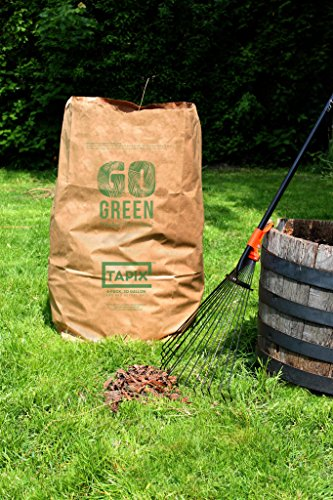 - Lawn and Leafs Bags 30 Gallon • Lawn & Leaf Refuse Bags • Environmental Friendly Leaf Bags Paper (8 Count)