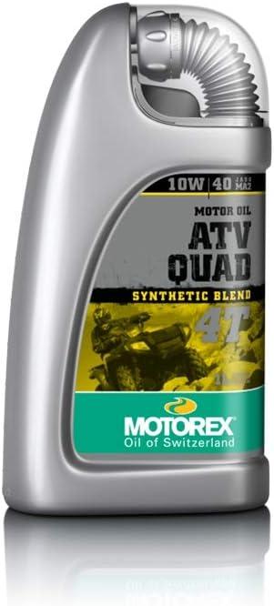 Motorex ATV Quad 4T 10W/40 - Aceite para motor de 4 tiempos (1 L): Amazon.es: Coche y moto