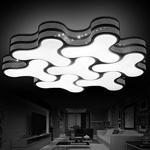 JJ Moderne LED Deckenlampe Deckenleuchte alien Wohnzimmer lampe ...
