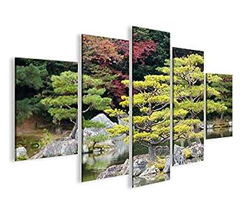 Images sur toile Jardin Japonais V2 MF Poster XXL Toile Décoration ...