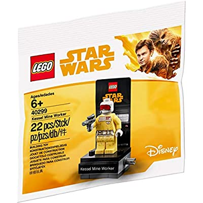 LEGO Star Wars Han Solo Star Wars Story - Kessel Mine Worker (40299): Toys & Games