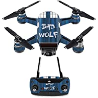 Skin for DJI Spark Mini Drone Combo - Time Lord Box| MightySkins Protective, Durable, and Unique Vinyl Decal wrap cover | Easy To Apply, Remove, and Change Styles | Made in the USA