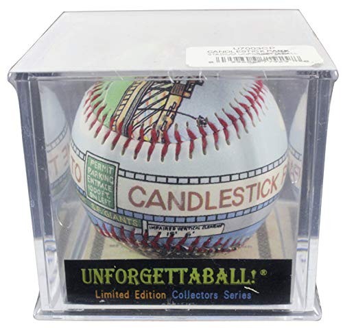 Giants Candlestick Park Printed Unforgetaball! Un-signed