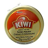 Kiwi Neutral Shoe Polish, 1-1/8 oz