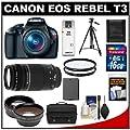 Canon EOS Rebel T3 Digital SLR Camera Body & EF-S…