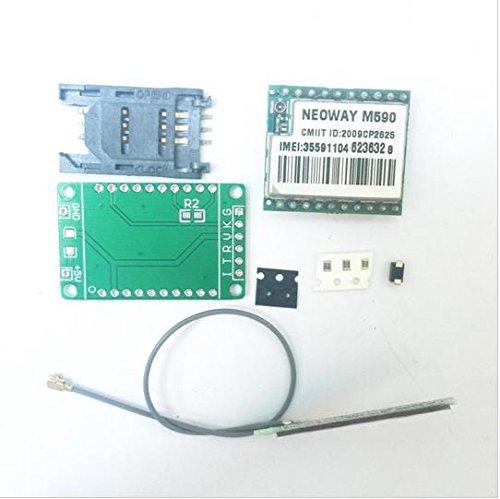 RUNNINGPART 5PCS/Lot DIY Kit gsm GPRS M590 gsm Module Short Message Service SMS Module for Project Remote Sensing Alarm