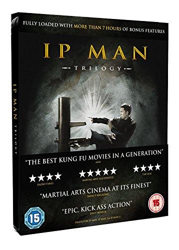 IP Man Trilogy: Limited Edition Steelbook Boxset [Blu-Ray]v