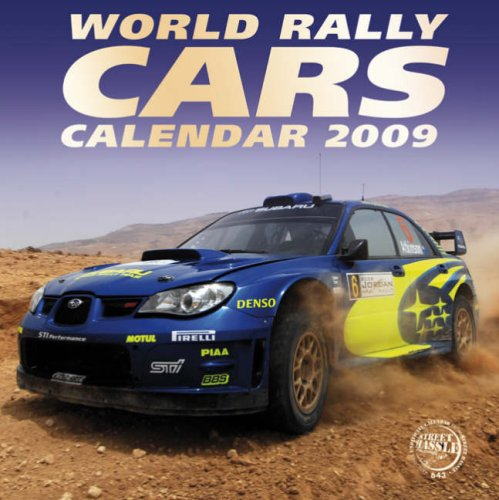 - World Rally Cars Calendar 2009 (Square Calendar)