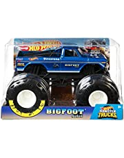 Hot Wheels Monster Trucks 1:24 Bigfoot Vehicle (GBV32)