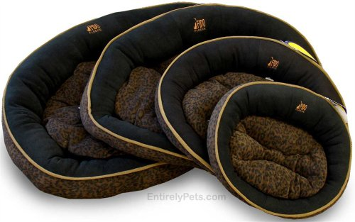 (Premier Black Faux Jag Cloud Bed, Sizes: Medium)