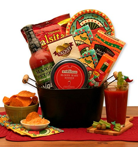 Bloody Mary Mixer Drink Gift Basket ()