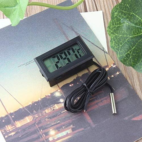fghdf Digital LCD Thermometer for Refrigerator Fridge Freezer Temperature 50~110/°C
