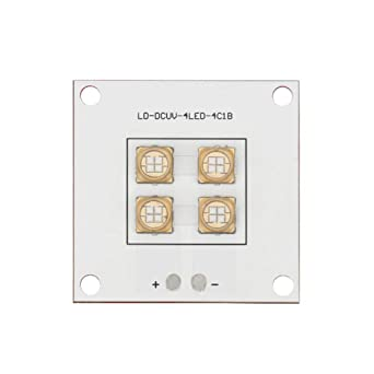 Asisuitable - Panel de luz LED de 40 W para impresora 3D, lámpara ...
