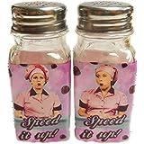 I Love Lucy Salt & Pepper Shaker Set Chocolate Factory
