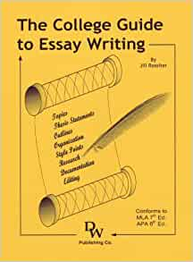 The college guide to essay writing by jill rossiter