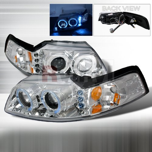 04 Ford Mustang Halo Projector - 8