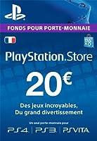 Carte Playstation Network 20 [Téléchargement]