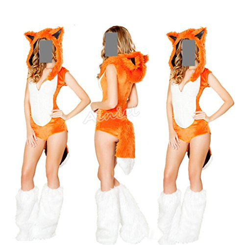 Sexy Animal Costumes For Women (Ainiel Animal Fancy Sexy Halloween Cosplay Costume Dress)