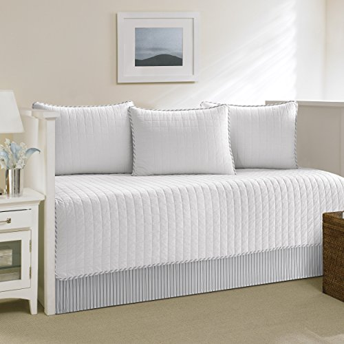 Nautica Maywood 5-Piece Set, Daybed Cover, (Nautica Standard Comforter)