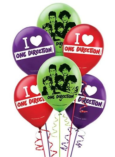 one direction balloons - 4