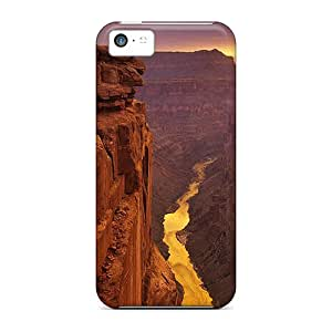 Waterdrop Snap-on River Along The Canyon Cases For Iphone 5c