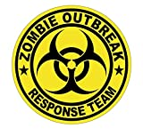 zombie response tire cover - 1-Pc Primo Popular Zombie Outbreak Response Team Car Stickers Signs Vinyl Hard Hat Infectious Disease Window Label Size 2